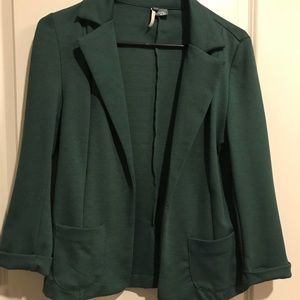 Urban Outfitters Forest Green Blazer